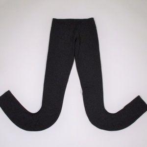 Lululemon 4 Black Leggings Scrunch Leg Full Length